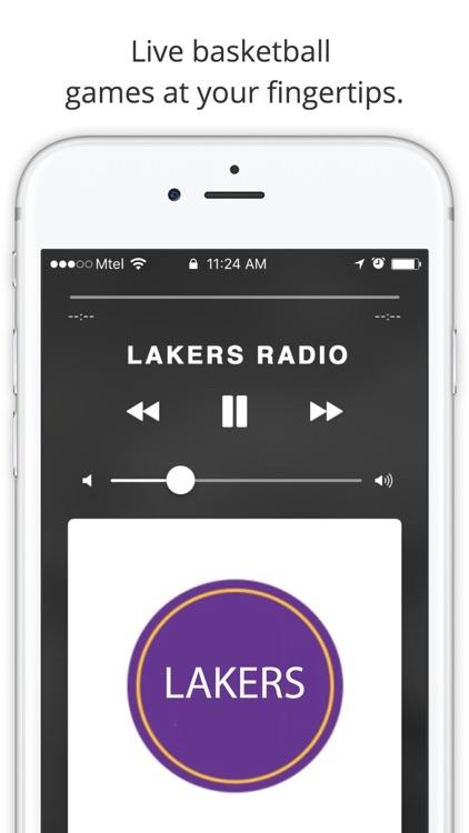 GameTime Basketball Radio - For NBA Live Stream screenshot-3