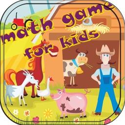 Animal Farm Math Game for kids