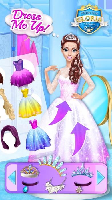 Princess Gloria Makeup Salon screenshot 4