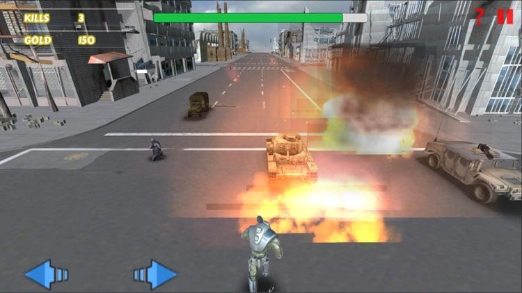 Super Heroes Shooting Game