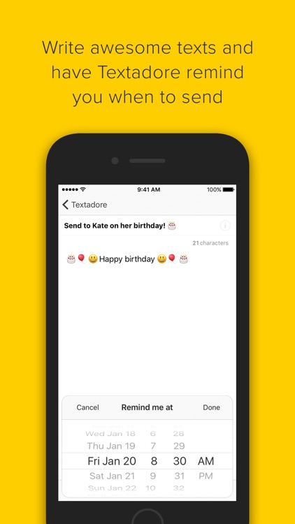 Textadore – Write & Share screenshot-0