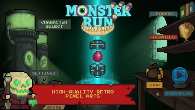 Monster Run. Free pixel-art platformer screenshot-3