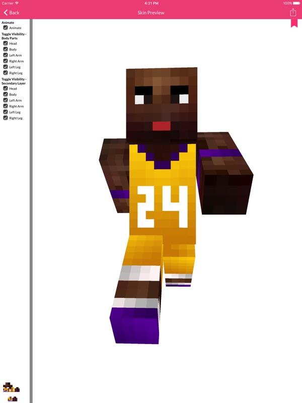 Basketball Skins For Minecraft Edition Online Game Hack
