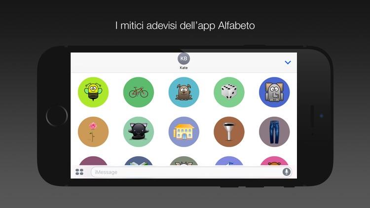 Adesivi dell'app Alfabeto