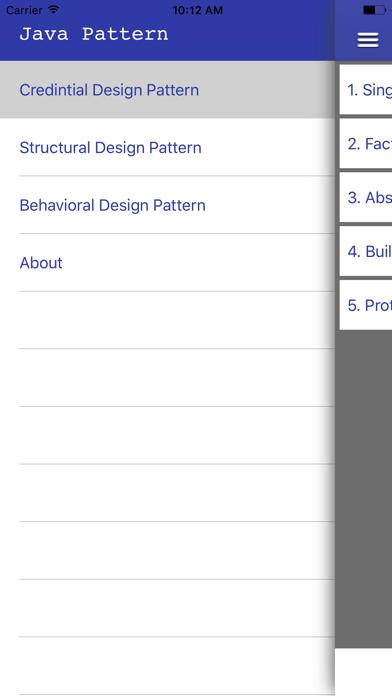 Screenshot #2 pour Design patterns in Java