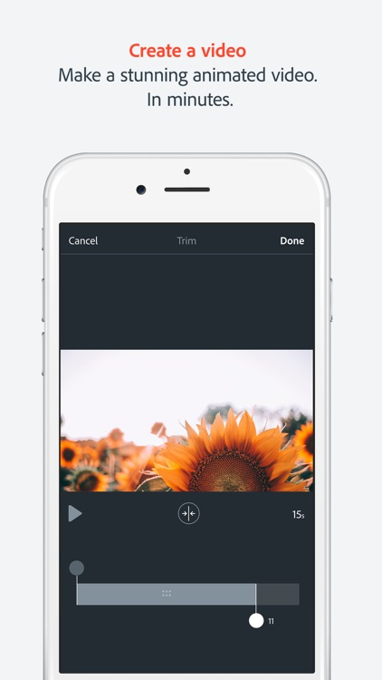 Adobe Spark Video, Animated Videos in minutes screenshot-0