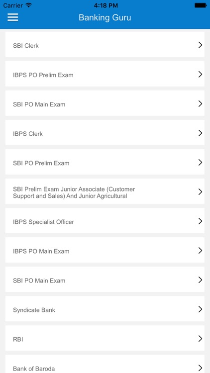 Banking Guru - Bank Exam Prep screenshot-0