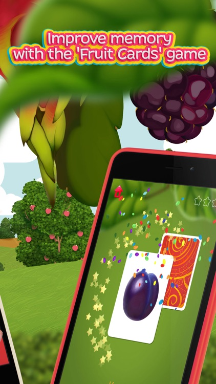 Moona Puzzles Fruits Lite learning games for kids screenshot-4