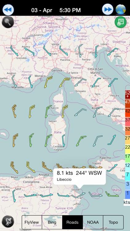 Wind NOAA forecast for windguru addicted people