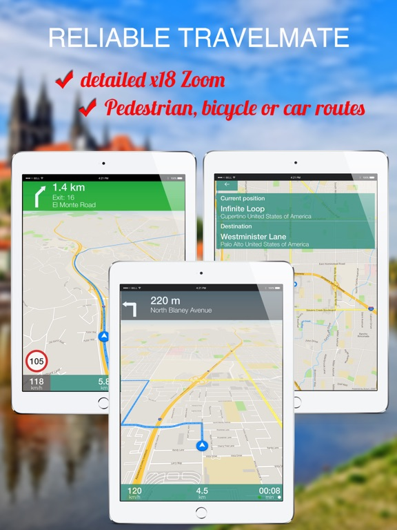 Cupertino Italy Map.Apulia Italy Offline Gps Navigation App Price Drops