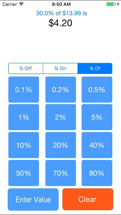 Devalluator - Percentage Calculation Tool screenshot-3