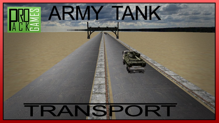 Army Tank Transport – Real Truck Driver Simulator screenshot-4