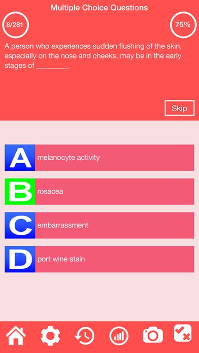 Integumentary System Quiz screenshot 9