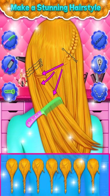 Braided Hairstyles Girls Games screenshot-4