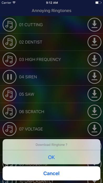 Annoying Sounds &  Ringtones screenshot three