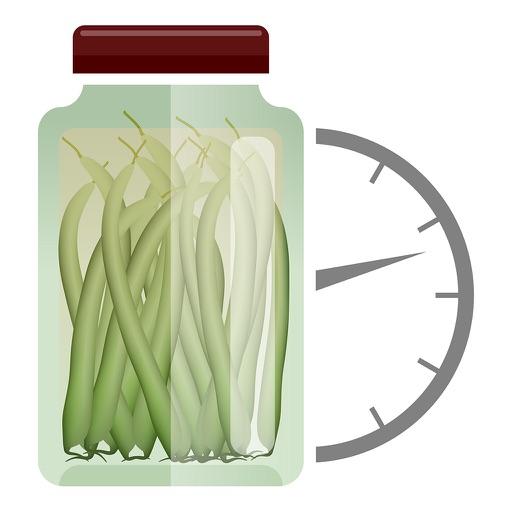 Canning timer & checklist
