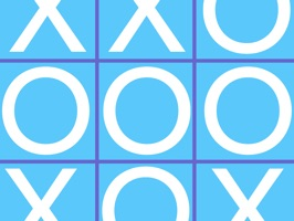 Have fun playing Tic-Tac-Toe with stickers