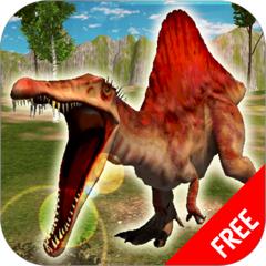 Simulateur Spinosaurus | Dinosaures Jeux de combat