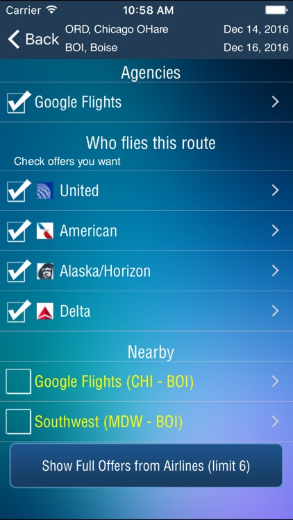 Boise Airport (BOI) + Flight Tracker screenshot-3