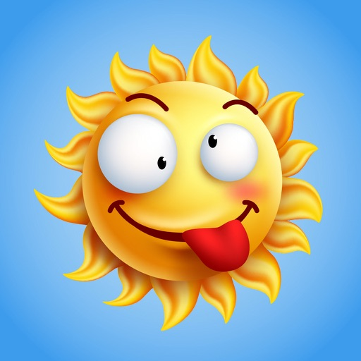 Weathermoji - Weather Stickers Emoji Keyboard