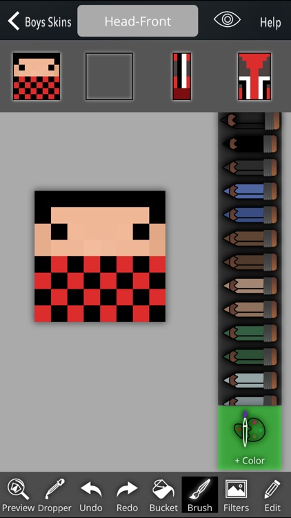 Boy Skins Pack+Editor For Minecraft PE screenshot-4