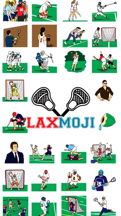 Laxmoji - The Emoji App for the Sport of Lacrosse!