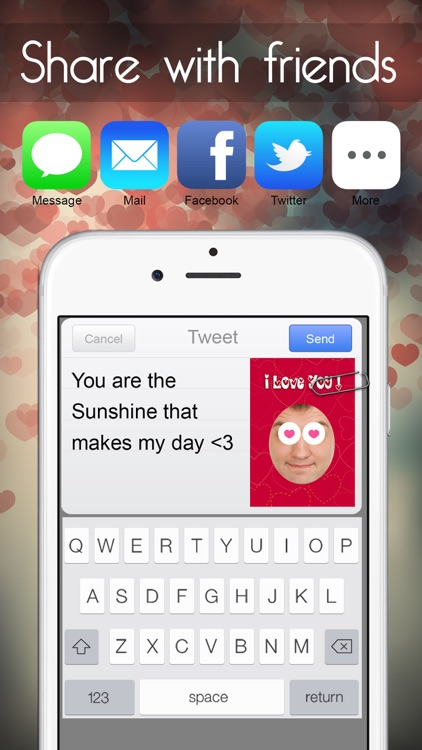 Valentine's Day - Personalised Love Cards Maker screenshot-4