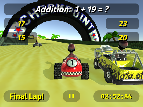 Math Racing 2 Pro screenshot 6