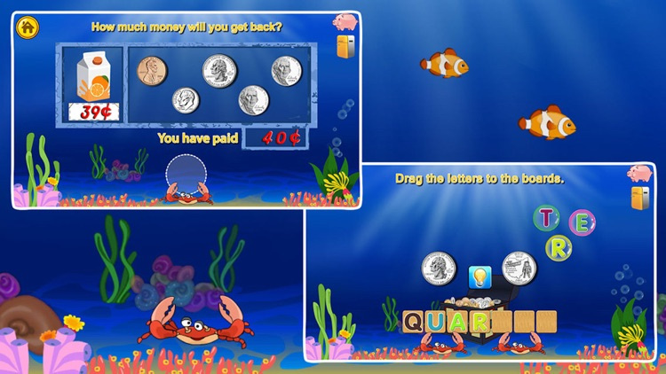 Amazing Coin(USD):Money learning  counting games