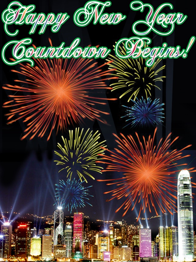happy new year countdown begins free on the app store