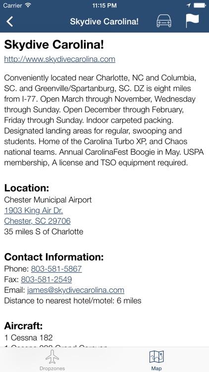 Dropzones - USPA Dropzone Finder screenshot-3