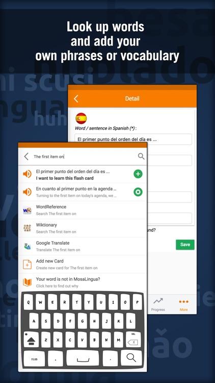 MosaLingua Business Spanish screenshot-4
