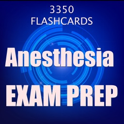 Anesthesia Exam Review 2017 : 3300 Flashcards Q&A