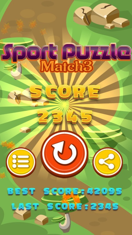 Sport Ball Puzzle Match 3 for Teens