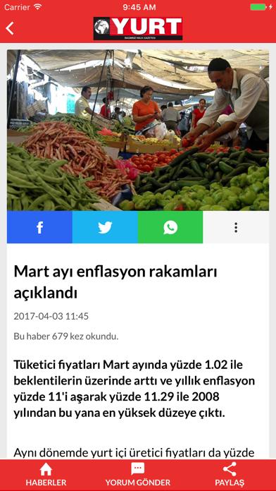 Yurt Gazetesi   Bağımsız, Halkçı, Muhalif Gazete screenshot two