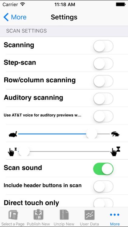 Alexicom AAC screenshot-3