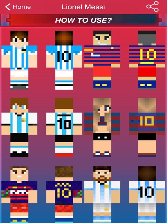 Football Sport Skins For Minecraft Pocket Edition App Price Drops - Skin para o minecraft pocket edition
