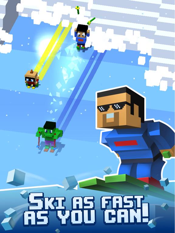 Avalanche Arcade Skiing screenshot 7