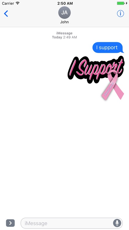 Cancer Awareness Stickers