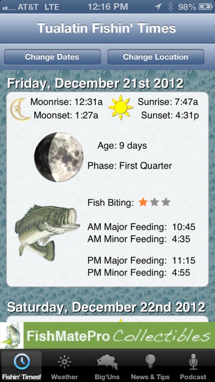 FishMate®Pro screenshot-0