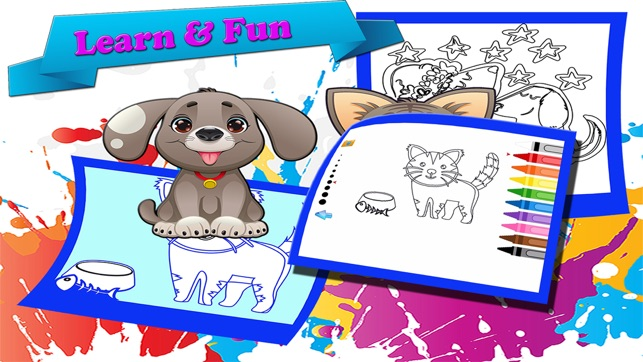 Animali Domestici Disegni Da Colorare Per Bambini Su App Store
