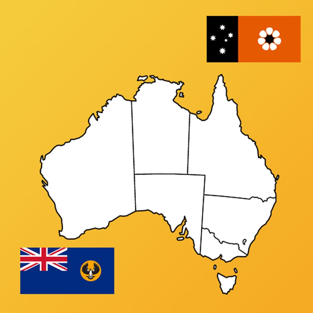 Australia State Flags, Maps, Info hack