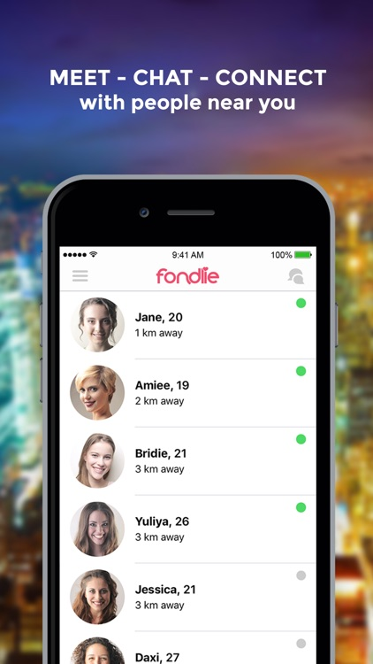Chat with people near