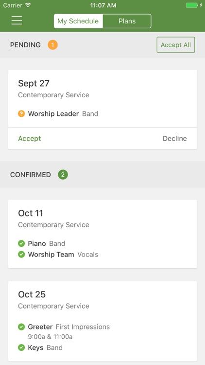 Planning Center Services screenshot-4