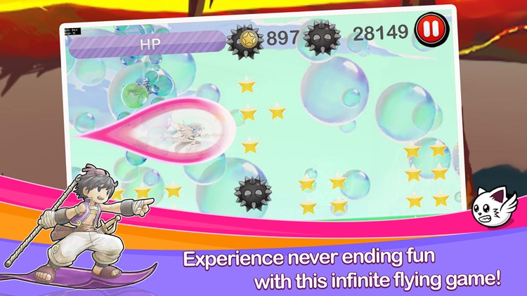 AlfaFly Mythos Quest: Fly Fly away to fantasy screenshot-3