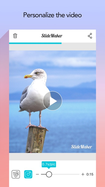 Slide Maker - Add Music to Photos & Make Slideshow