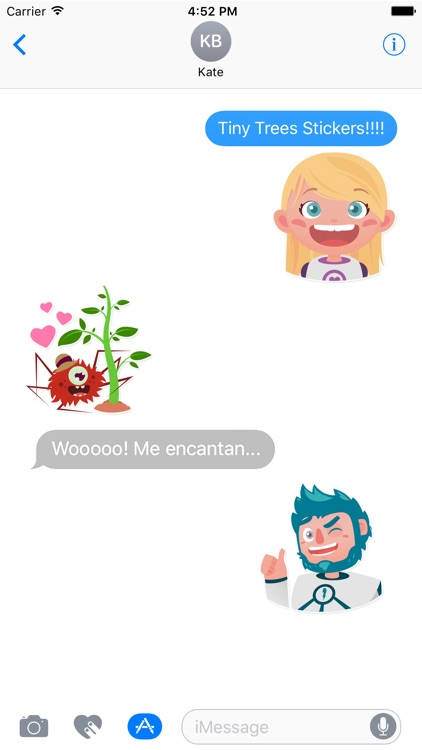 Tiny Trees Stickers for iMessage