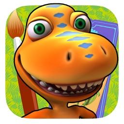 Dinosaur Train: Paint and Match