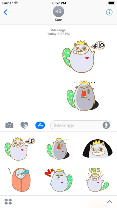 Simon the Cat. Stickers by Design73