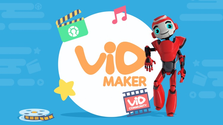 VidMaker - 3D MovieMaker for Kids screenshot-0